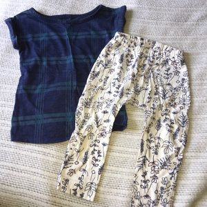 EUC 12-18 Months Girls old Navy Outfit